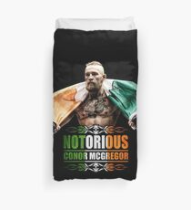 conor mcgregor Duvet Cover