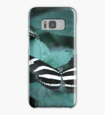 Zebra Longwing Butterflies Samsung Galaxy Case/Skin