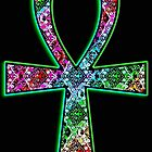 Ankh Psychedelic by The House of Psychedelia