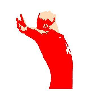 Wayne Rooney Celebration by ajrhode1
