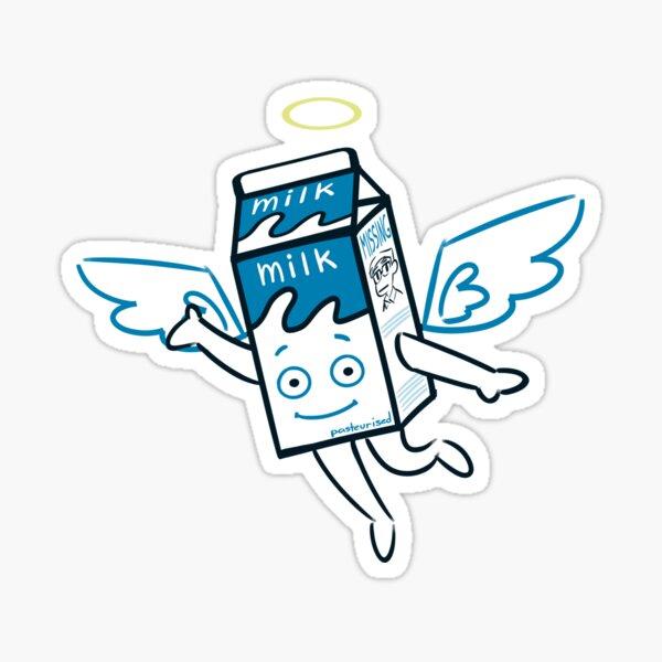 RIP Milky -Angel Edition Sticker