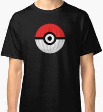 Striped Pokeball Classic T-Shirt