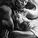 Zelgan, (Ganondorf and Zelda) by Figment Forms