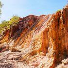 Ochre Pits Landscape - West McDonald Ranges, Australia by Lexa Harpell