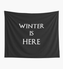Game of Thrones Winter is Here Tapestry