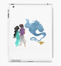 Princess, Prince and Genie Inspired Silhouette iPad Case/Skin