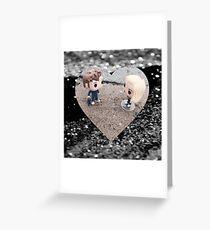 The Doctor & Rose tenrose Greeting Card