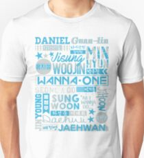 WANNA ONE Collage T-Shirt