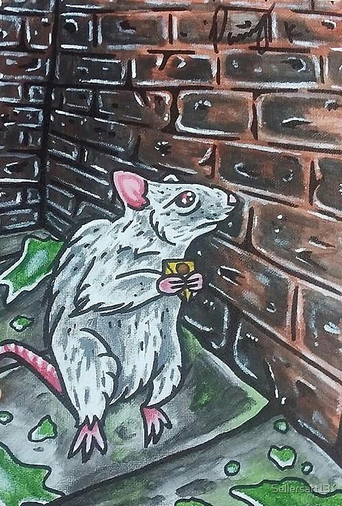 Lonely Rat by Sellersart13