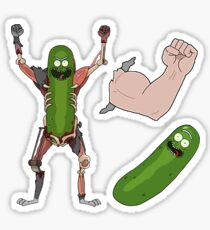 Rick and Morty Season 3, EP 1,2,3 pack Sticker