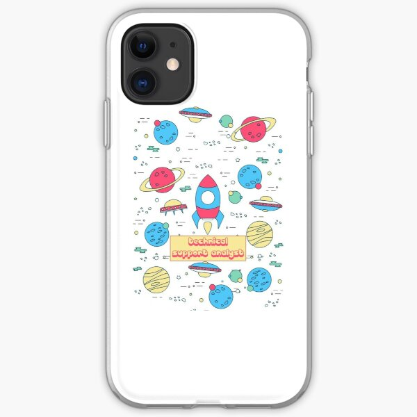 TECHNICAL SUPPORT ANALYST iPhone Soft Case