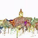 Annapolis, Maryland Skyline - Verblaßter Ruhm von Marlene Watson