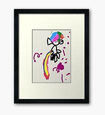 Horsie by Amirah Framed Print