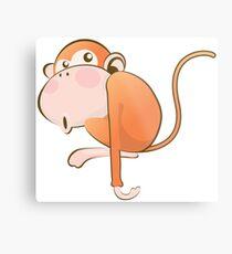 Funny Monkey Metal Print