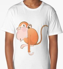 Funny Monkey Long T-Shirt