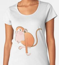 Funny Monkey Women's Premium T-Shirt
