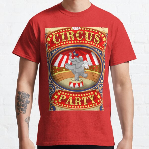 Dumbo Flying Elephant Circus Party  Classic T-Shirt