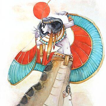 Egyptian Godess by Lysaena