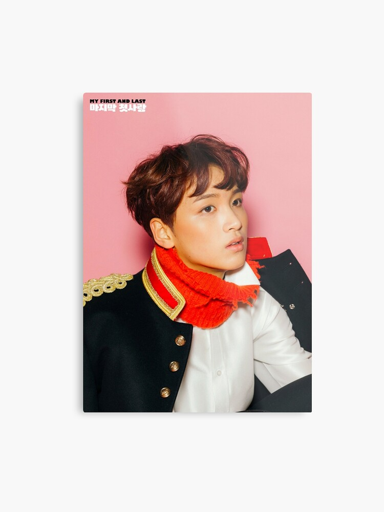 NCT DREAM MY FIRST AND LAST HAECHAN | Metal Print