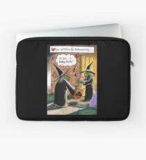 Lustige Hexen Halloweens Süßes sonst gibt's Saures Laptoptasche