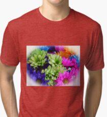 Painted Daisies Tri-blend T-Shirt