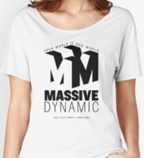 Massive Dynamic – Your World Is Our World  Women's Relaxed Fit T-Shirt