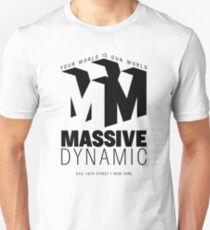 Massive Dynamic – Your World Is Our World  T-Shirt