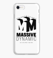 Massive Dynamic – Your World Is Our World  iPhone Case/Skin