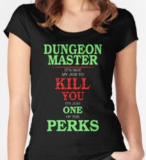 DM Perks Women's Fitted Scoop T-Shirt