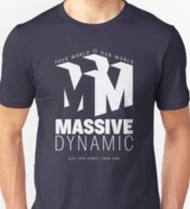 Massive Dynamic – Your World Is Our World Reverse Unisex T-Shirt