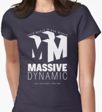 Massive Dynamic – Your World Is Our World Reverse T-Shirt