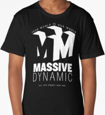 Massive Dynamic – Your World Is Our World Reverse Long T-Shirt