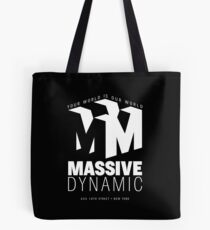 Massive Dynamic – Your World Is Our World Reverse Tote Bag