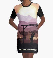 Vintage WayHaught Graphic T-Shirt Dress