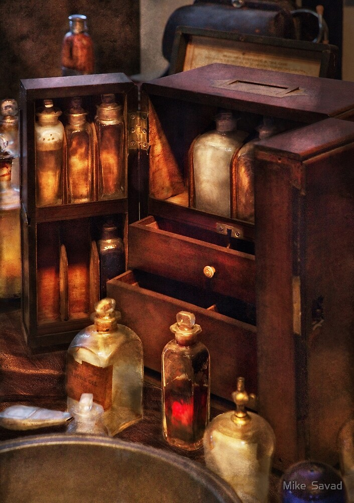 Doctor - The medicine cabinet by Michael Savad