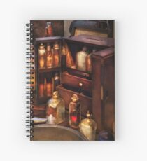 Doctor - The medicine cabinet Spiral Notebook