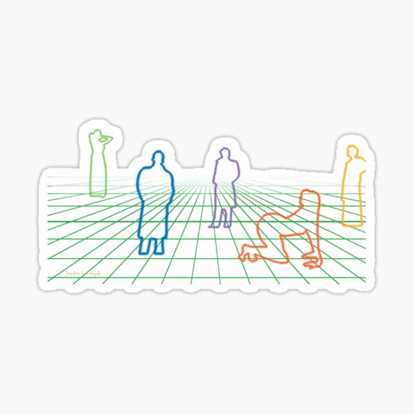 Hi-Tech-View Sticker