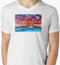 Sunshine Skyway V-Neck T-Shirt