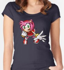 Amy Rose Women's Fitted Scoop T-Shirt
