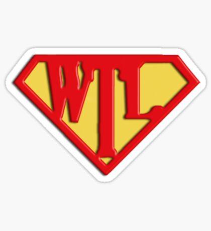 Way Truth Life - SuperJesus Sticker