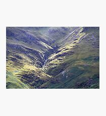 Light Beams At Hell Ghyll , Oxendale Photographic Print