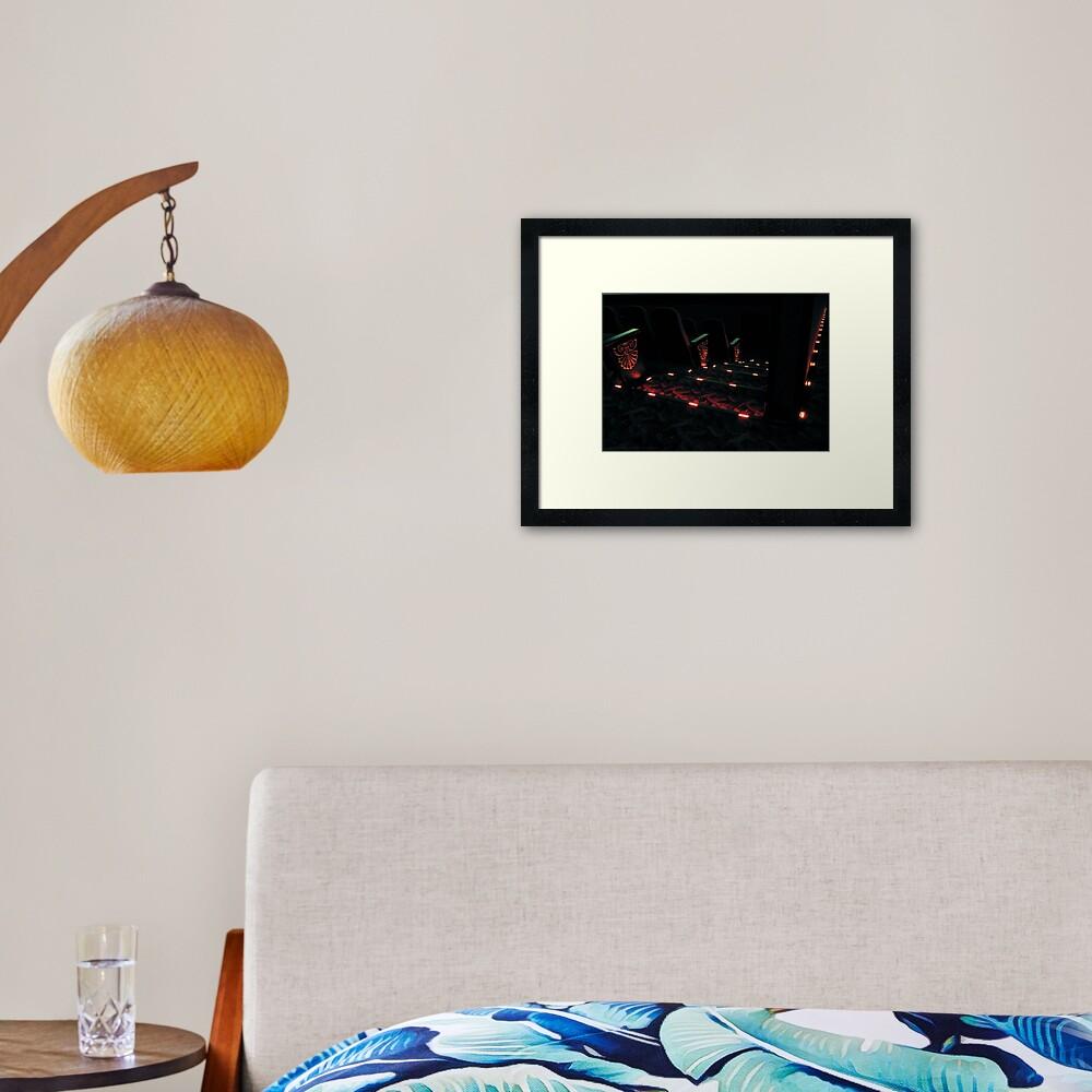 Cinema House Framed Art Print