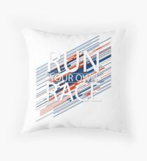 RUNNING SPORT BEST DESIGN 2017 Throw Pillow