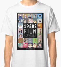 1980's Film Alphabet Classic T-Shirt