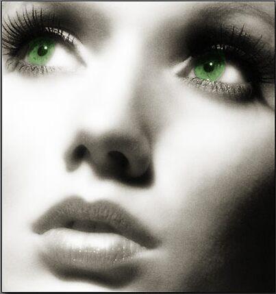 Green Eyes by Areej27Jaafar