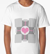 Companion Cube - Portal Long T-Shirt