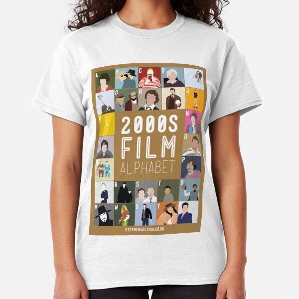 00s Film Alphabet Classic T-Shirt