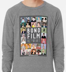 Bond Film Alphabet Lightweight Sweatshirt
