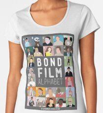 Bond Film Alphabet Women's Premium T-Shirt