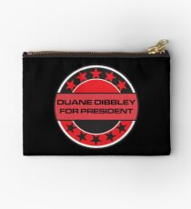Duane Dibbley For President Studio Pouch